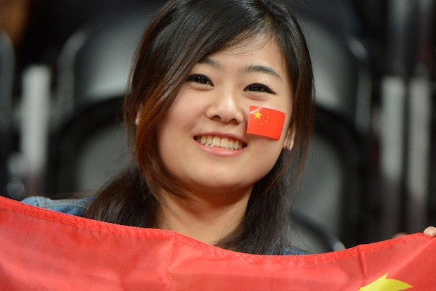 Chinese girl Olympics