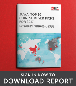Juwai Top 10 Chinese Buyer Picks 2017 Report Download
