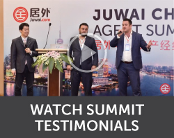 Juwai China Agent Summit attendee testimonial video