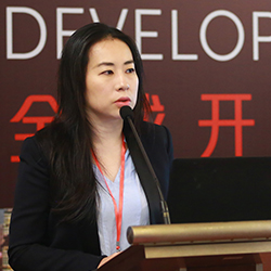Carrie Wang Fosun Property Holdings' Executive Director of Strategic Research and BP