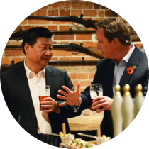 Xi and Cameron