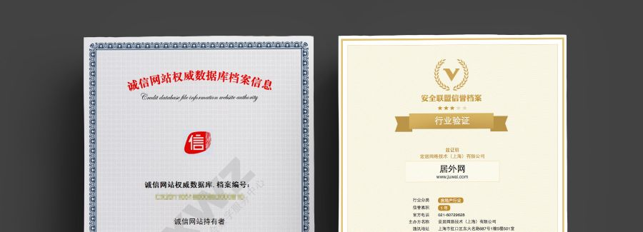 Juwai China Consumer Trust Certification