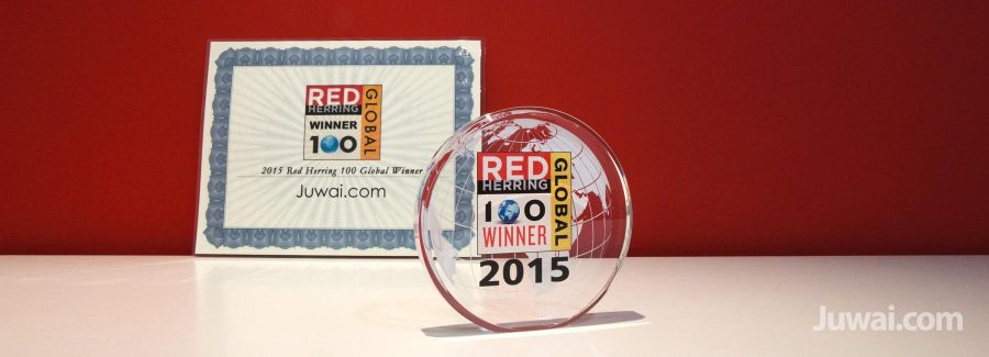 juwai red herring 100 global 2015 award