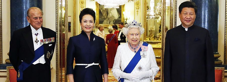 xi jinping uk visit british royal family queen elizabeth