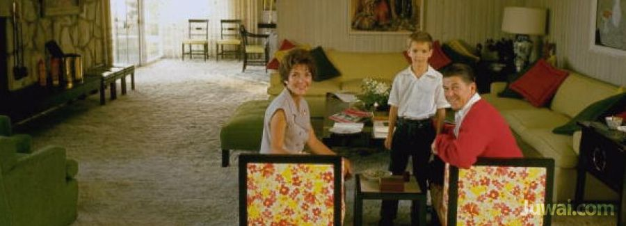 ronald and nancy reagan los angeles home