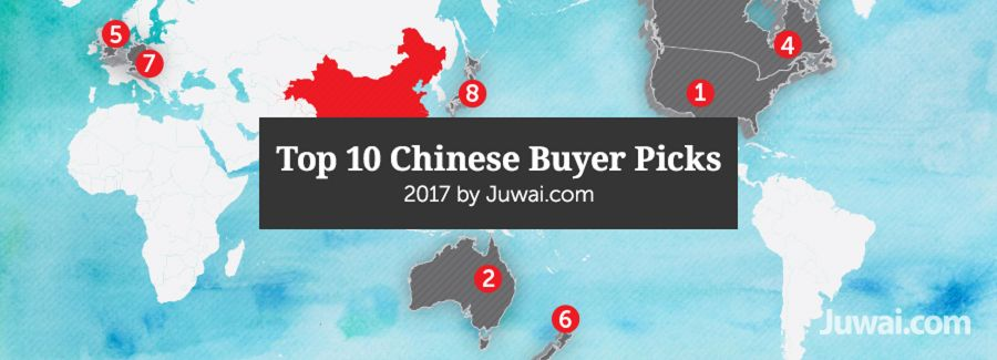 Juwai Top 10 Chinese Buyer Picks Report 2017
