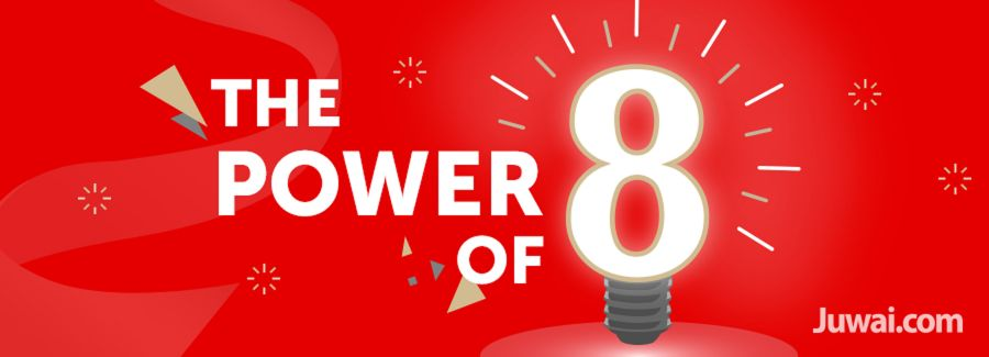 juwai power of number eight