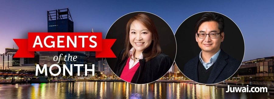 Agents of the month: Lily Chong and Derek Tse, IQI WA