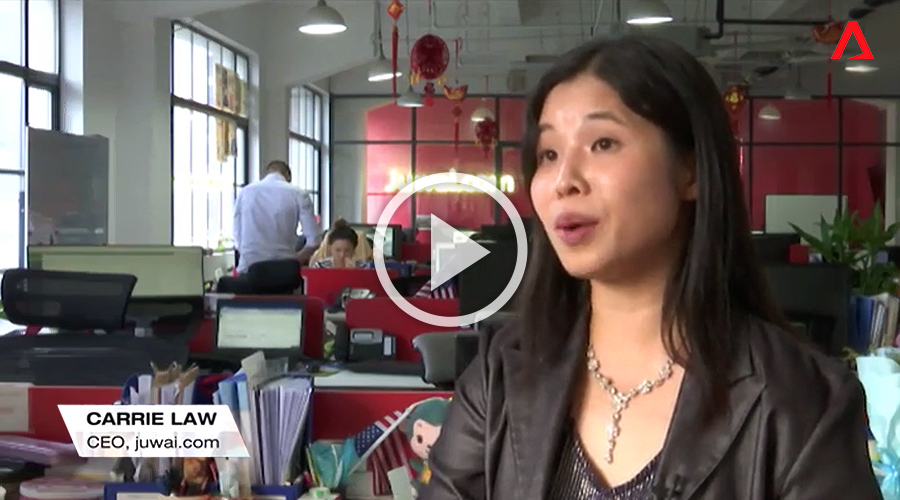 Carrie Law on Channel News Asia Golden Week 2017