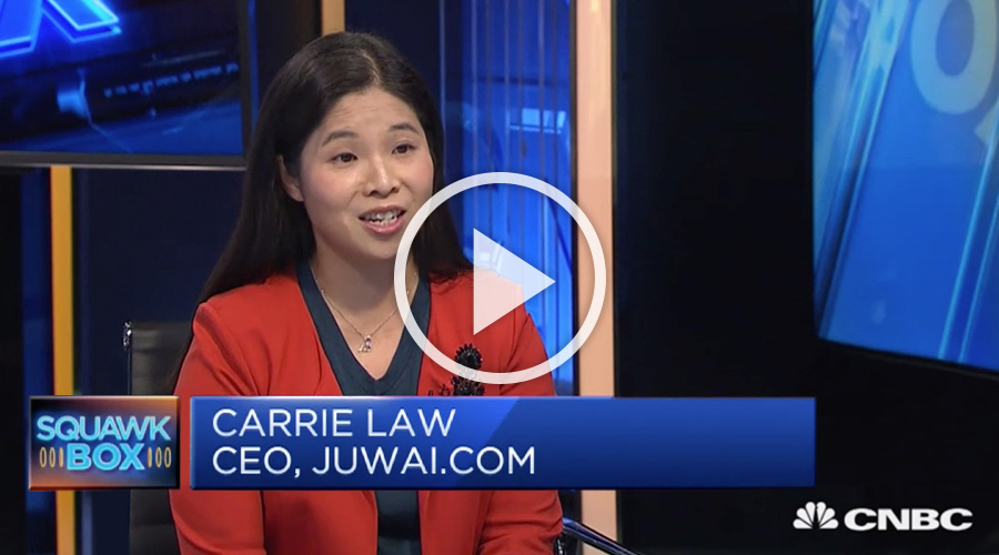Carrie Law at CNBC on Jan 2019